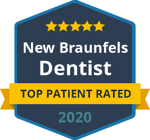 New braunfels dentist - top patient rated badge 2020